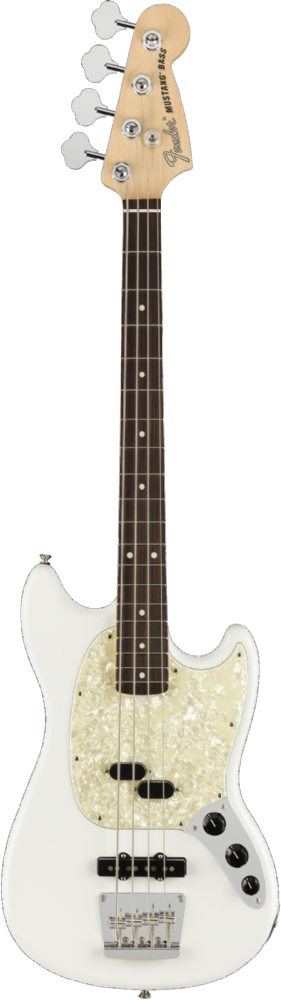 Fender American Performer Mustang Bass Arctic White